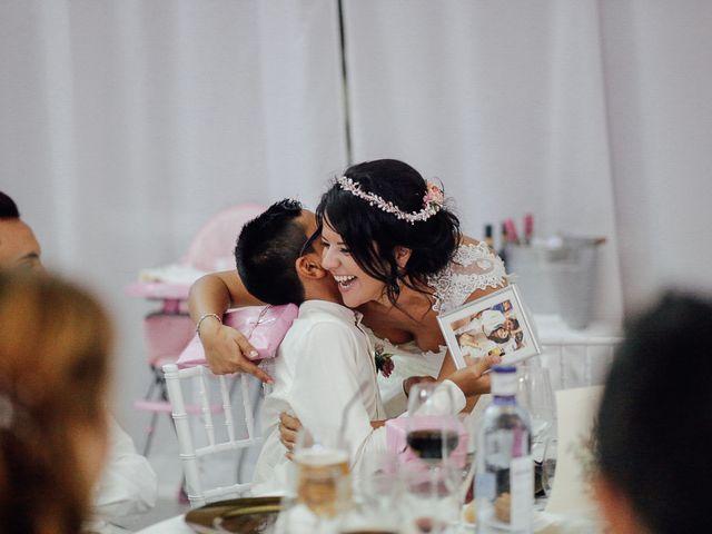 La boda de Javier y Davinia en Retamar, Almería 111