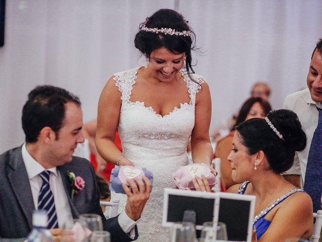 La boda de Javier y Davinia en Retamar, Almería 112