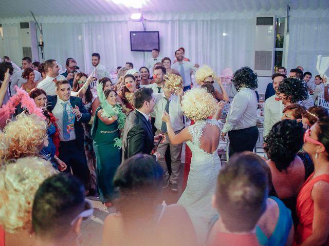 La boda de Javier y Davinia en Retamar, Almería 115