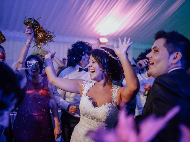 La boda de Javier y Davinia en Retamar, Almería 116