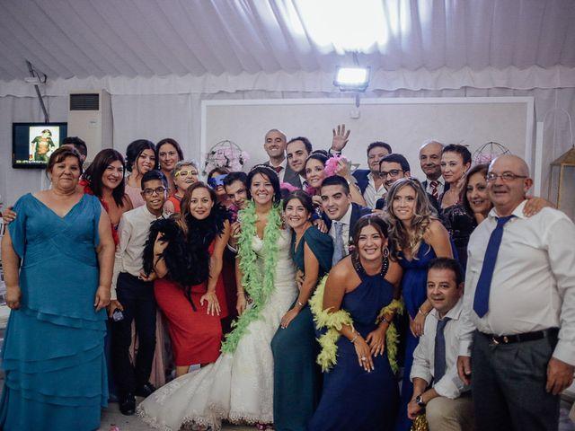 La boda de Javier y Davinia en Retamar, Almería 118