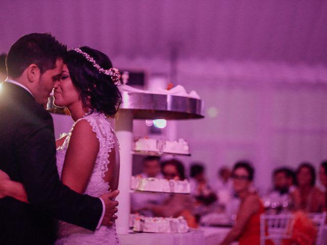 La boda de Javier y Davinia en Retamar, Almería 120