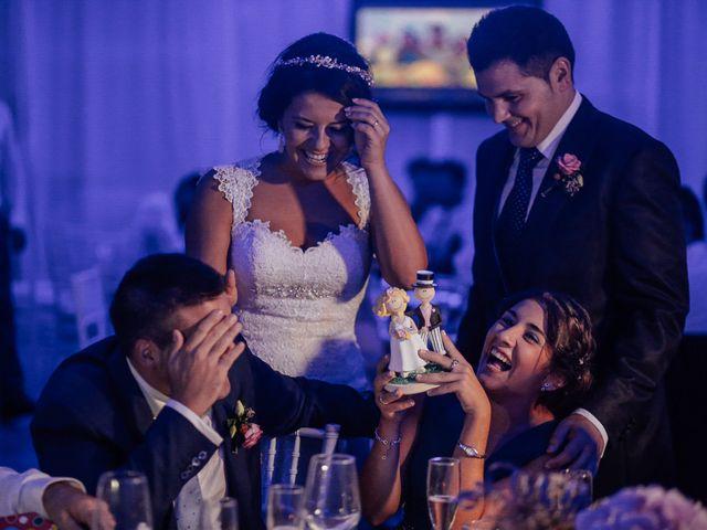 La boda de Javier y Davinia en Retamar, Almería 121