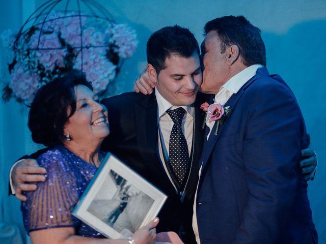 La boda de Javier y Davinia en Retamar, Almería 123