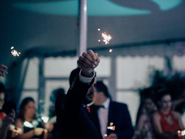 La boda de Javier y Davinia en Retamar, Almería 130