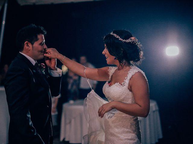 La boda de Javier y Davinia en Retamar, Almería 132