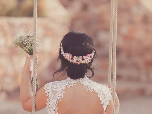 La boda de Javier y Davinia en Retamar, Almería 136