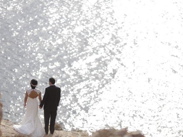 La boda de Javier y Davinia en Retamar, Almería 139