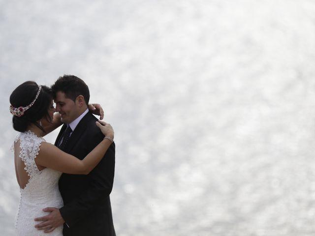 La boda de Javier y Davinia en Retamar, Almería 140