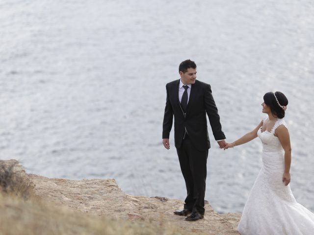 La boda de Javier y Davinia en Retamar, Almería 141