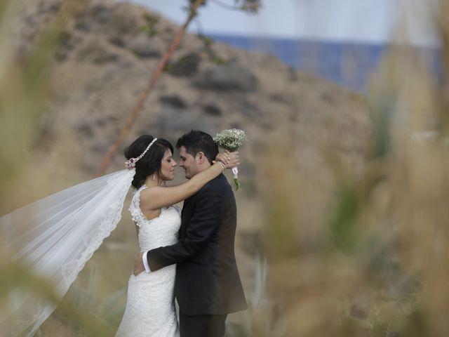 La boda de Javier y Davinia en Retamar, Almería 146