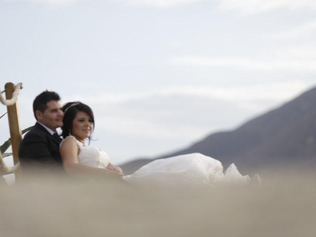 La boda de Javier y Davinia en Retamar, Almería 147
