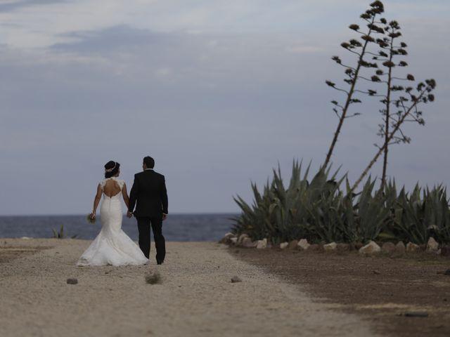 La boda de Javier y Davinia en Retamar, Almería 150