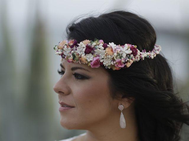 La boda de Javier y Davinia en Retamar, Almería 154