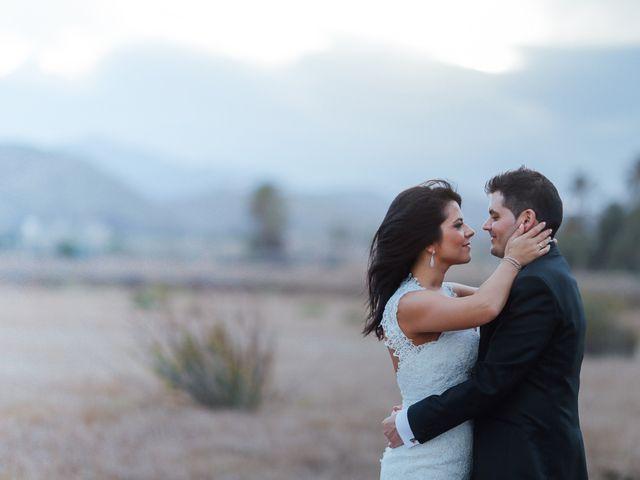 La boda de Javier y Davinia en Retamar, Almería 155
