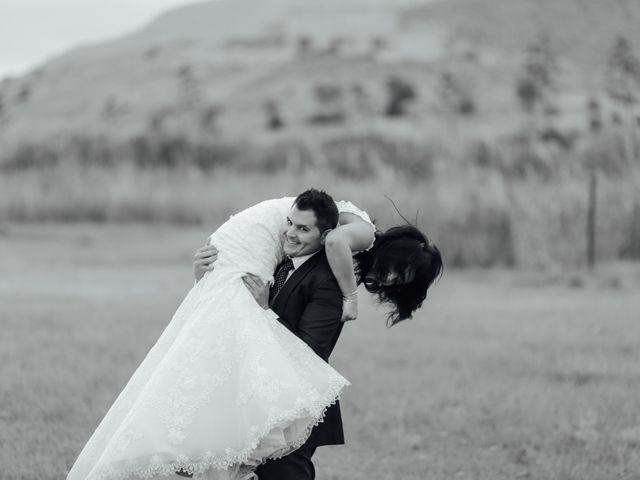 La boda de Javier y Davinia en Retamar, Almería 156