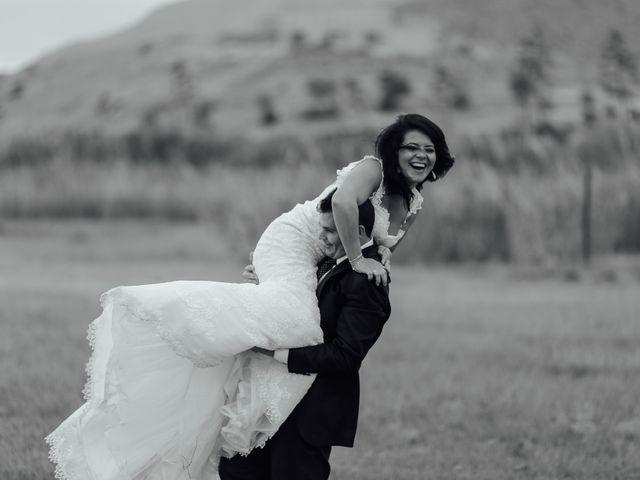 La boda de Javier y Davinia en Retamar, Almería 157