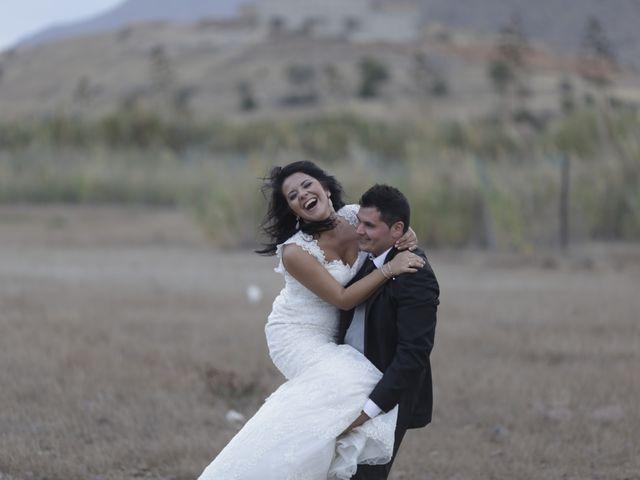 La boda de Javier y Davinia en Retamar, Almería 159