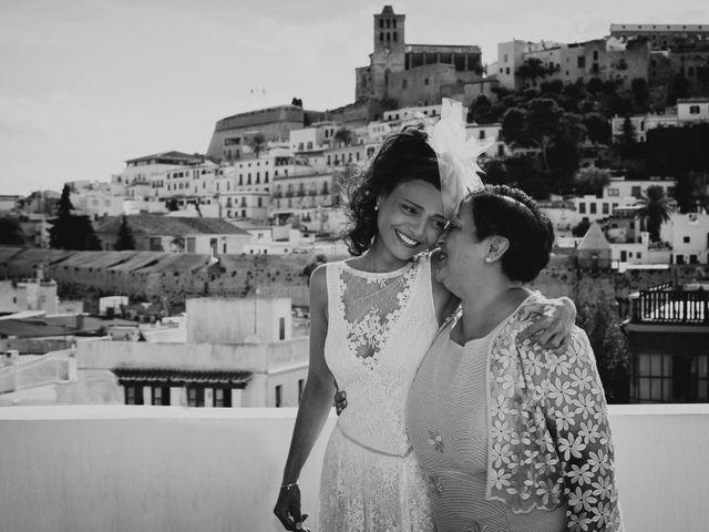 La boda de Diego y Adriana en Eivissa, Islas Baleares 19