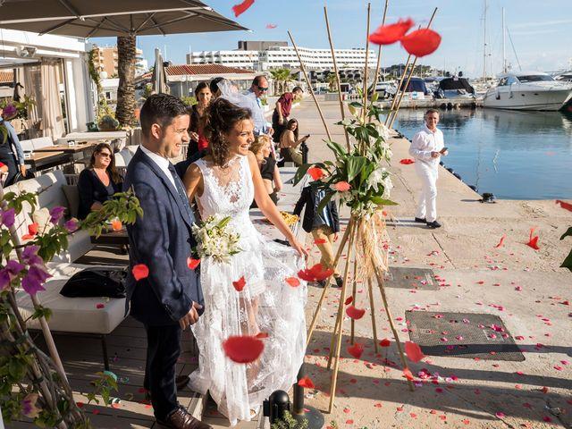 La boda de Diego y Adriana en Eivissa, Islas Baleares 43