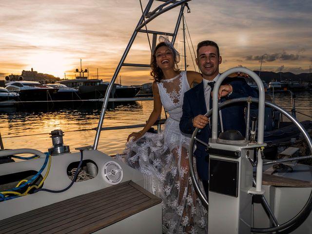 La boda de Diego y Adriana en Eivissa, Islas Baleares 46