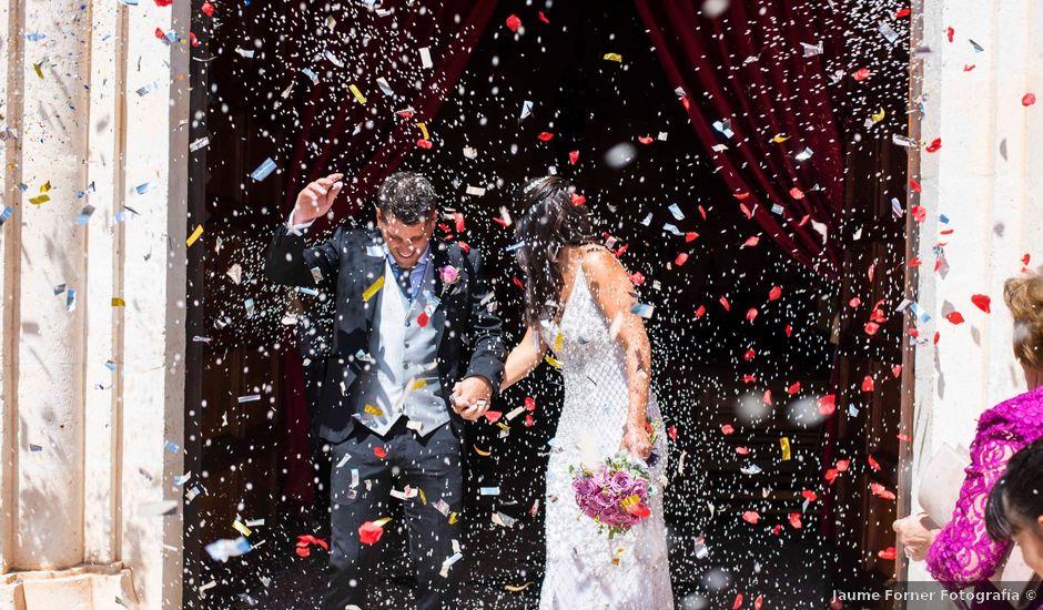 La boda de Alberto y Cati en Porto Cristo Novo, Islas Baleares