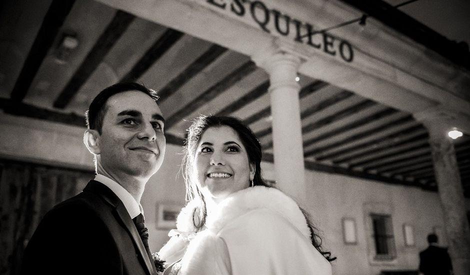 La boda de Pedro y Estefanía en Sotos De Sepulveda, Segovia