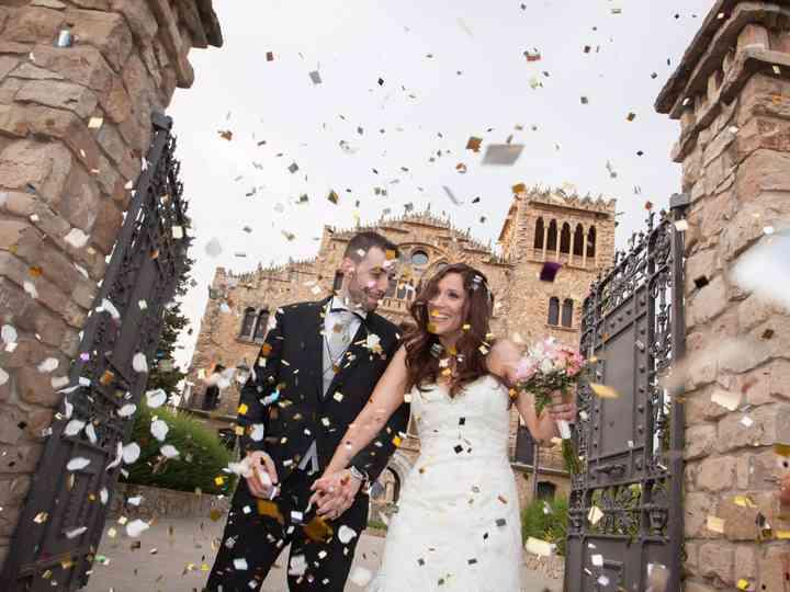 La boda de Isaac y Laura