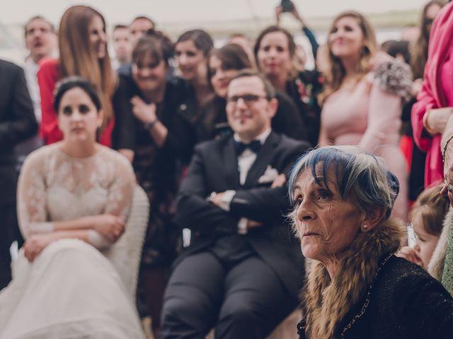 La boda de Julio y Raquel en Villasevil, Cantabria 114