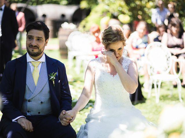 La boda de Iñigo y Isabel en Laguardia, Álava 20