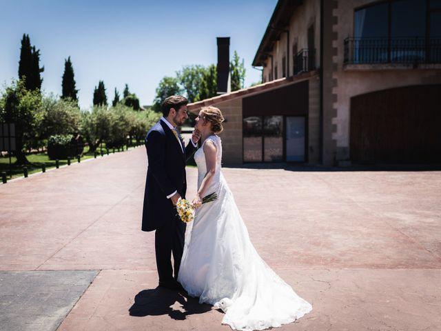 La boda de Iñigo y Isabel en Laguardia, Álava 31