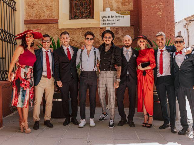 La boda de Hemeregildo y Maria del Mar en Granada, Granada 19