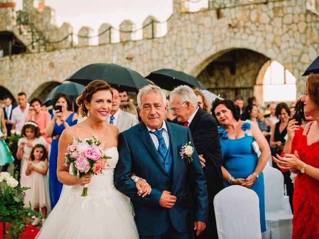 La boda de Pedro  y Azahara  en Minglanilla, Cuenca 1