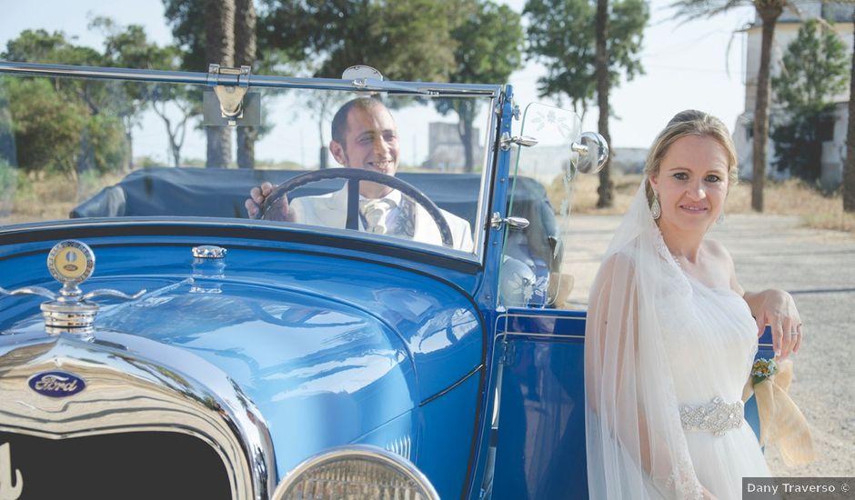 La boda de Israel y Virginia en Campano, Cádiz