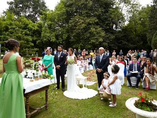 La boda de Aroa y Juan