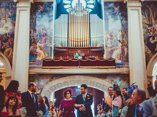 La boda de Alex y Isa en Chinchilla De Monte Aragon, Albacete 19