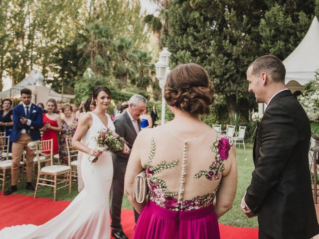 La boda de Quino y Elisabeth  en Granada, Granada 28