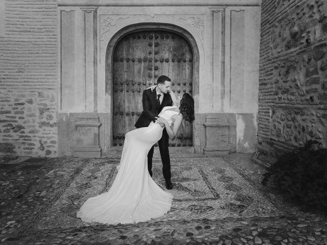 La boda de Quino y Elisabeth  en Granada, Granada 66