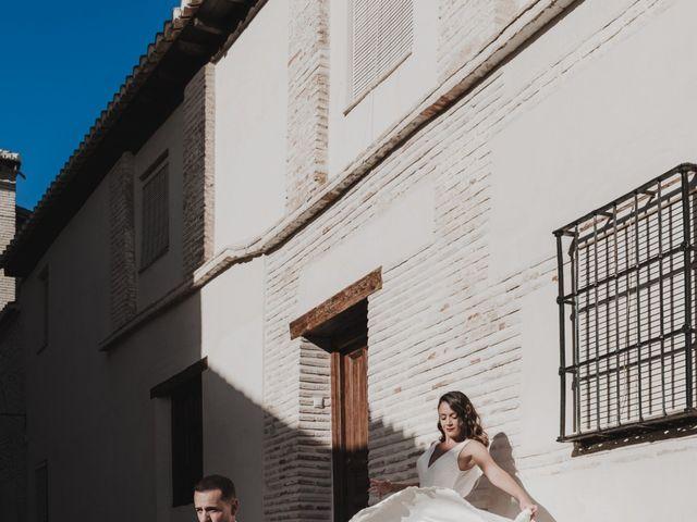 La boda de Quino y Elisabeth  en Granada, Granada 67