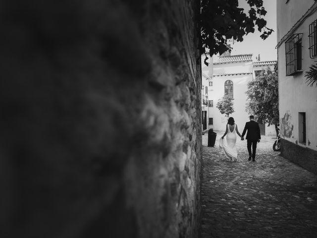 La boda de Quino y Elisabeth  en Granada, Granada 70