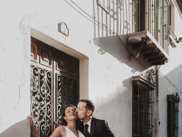 La boda de Quino y Elisabeth  en Granada, Granada 71