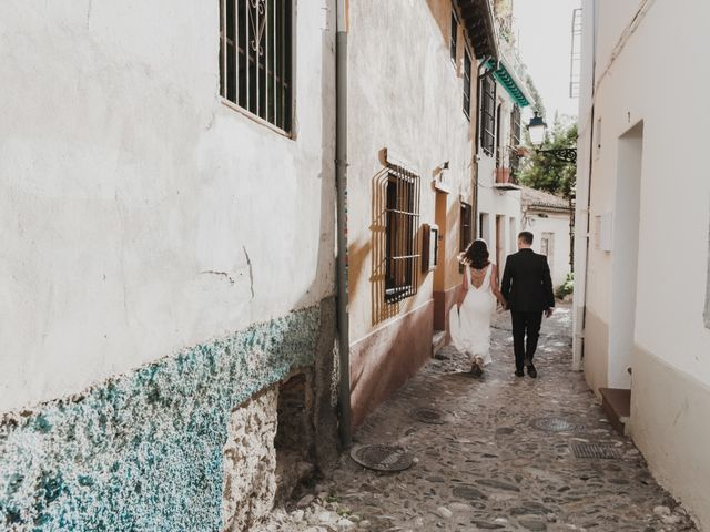 La boda de Quino y Elisabeth  en Granada, Granada 75