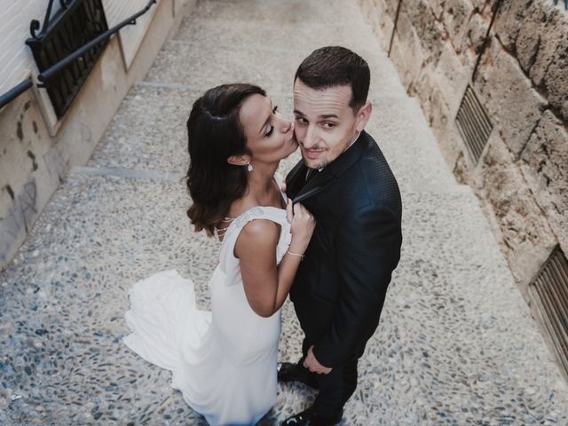 La boda de Quino y Elisabeth  en Granada, Granada 78