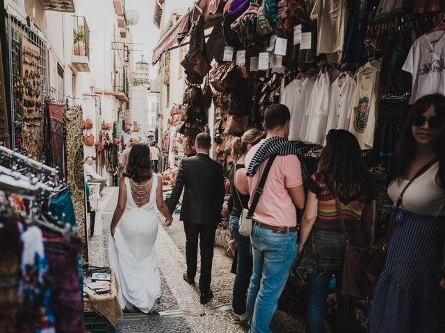 La boda de Quino y Elisabeth  en Granada, Granada 79