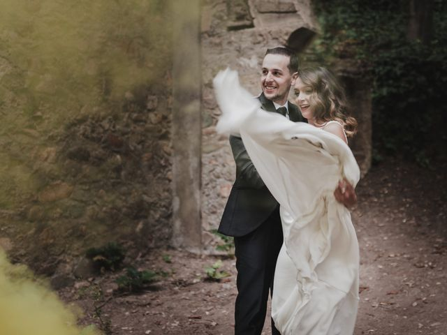 La boda de Quino y Elisabeth  en Granada, Granada 87