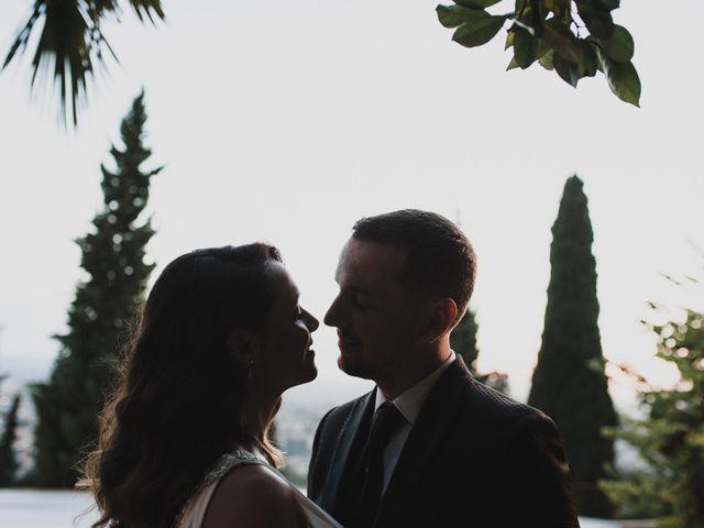 La boda de Quino y Elisabeth  en Granada, Granada 97