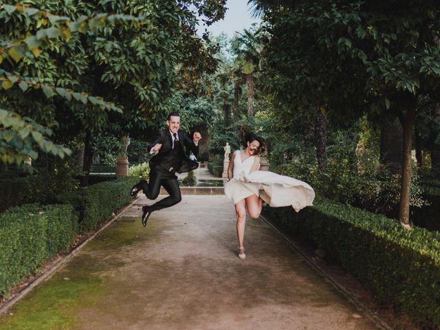 La boda de Quino y Elisabeth  en Granada, Granada 101