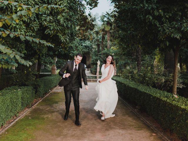 La boda de Quino y Elisabeth  en Granada, Granada 102