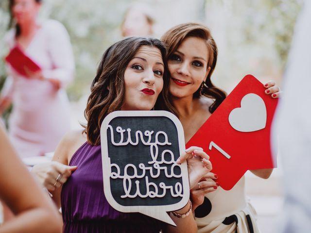 La boda de Santi y Sheila en Aielo De Malferit, Valencia 136