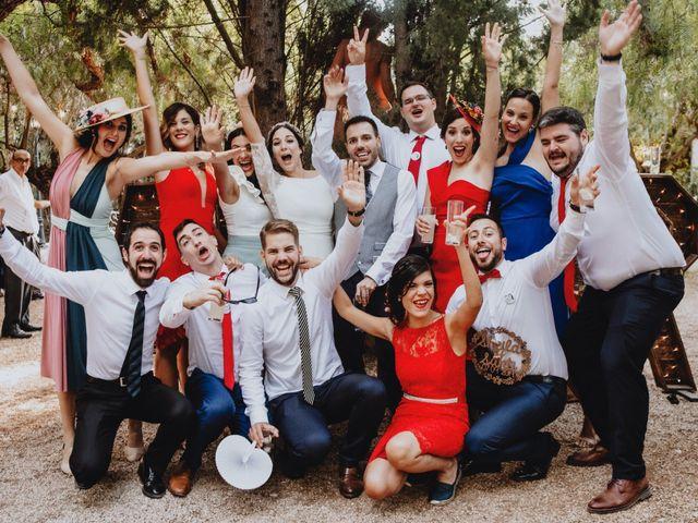 La boda de Santi y Sheila en Aielo De Malferit, Valencia 143